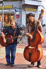Hamburg, Straßenmusiker (2)