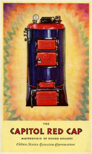 The Capitol Red Cap: Masterpiece of Round Boilers, 1928
