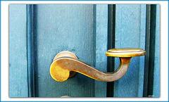 ...it's the boys door...