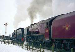 Great Central Railway Quorn Leicestershire 28th January 1996