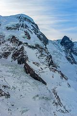 Blick vom Gornergrat auf das Breithorn - 4164 Meter über NN - P.i.P. (© Buelipix)