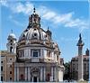 Roma : Santa Maria di Loreto e Colonna Traiana