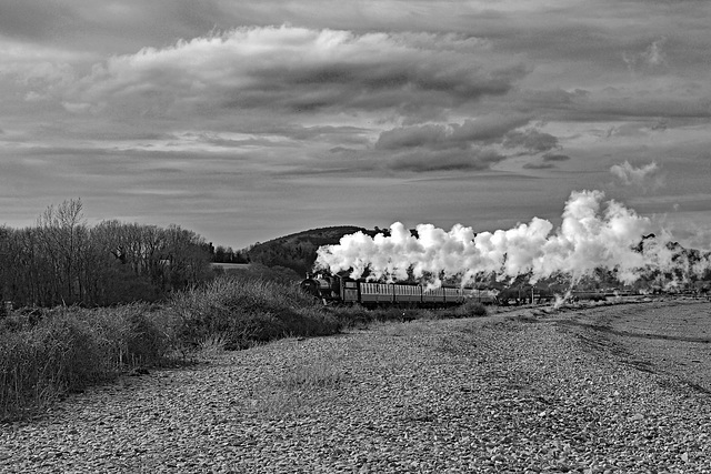 Steam on the Coast