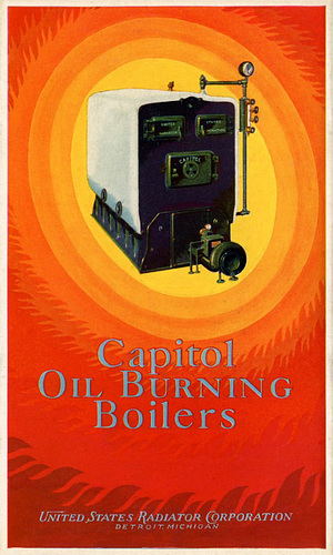 Capitol Oil Burning Boilers, 1927