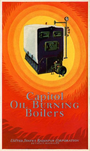 Capitol Oil Burning Boilers, 1927