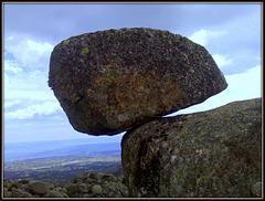 Granite Boulder showing off.