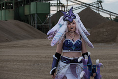 Cosplayer Kindred Lamb