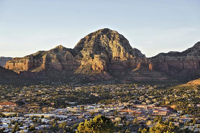Just Before Sunset – Airport Mesa, Sedona, Arizona