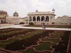 Anguri Bagh Gardens and Roshan Ara Pavilion.