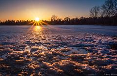 Premier coucher de soleil du printemps