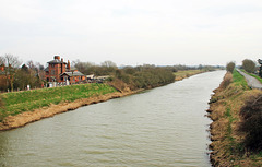 The river Witham from Kirkstead bridge ( looking towards Boston )