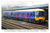 First Great Western Thames Turbo - 165 125 - at Oxford station - 17.3.2015