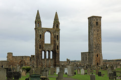 St.Andrews Cathedral and  Saint Rule's Tower