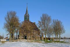 Nederland - Krommeniedijk, kerk