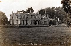 Edith Weston Hall, Rutland (Demolished c1954)