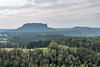 Blick zum Lilienstein und zur Festung Königstein