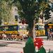 Chamonix Bus departure area - Aug 1990