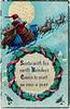 Santa With His Swift Reindeer
