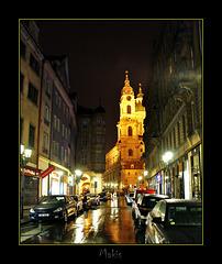 Rainy night in Prague ...