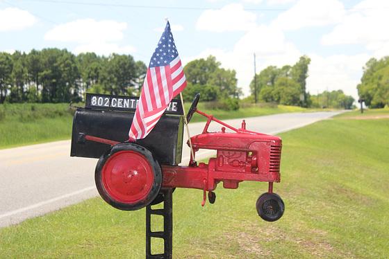"""You've Got Mail""  :))))  in the USA  :)  ... Rural Georgia"
