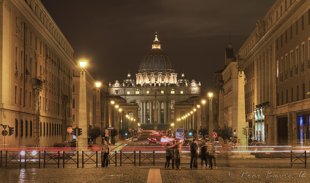 St. Peter's Basilica, Rome, Italy.