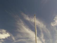Flag pole 1