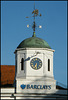 Barclays cupola clock