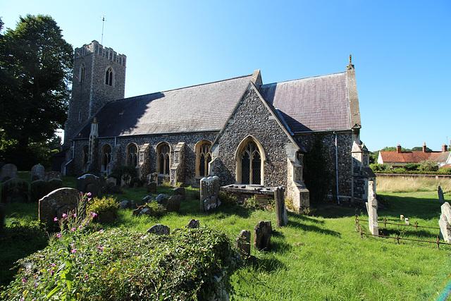 Saint Michael's Church, Peasenhall, Suffolk