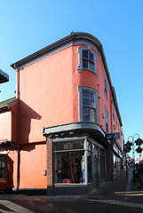 Corner of Abbeygate Street and Angel Lane, Bury St Edmunds, Suffolk