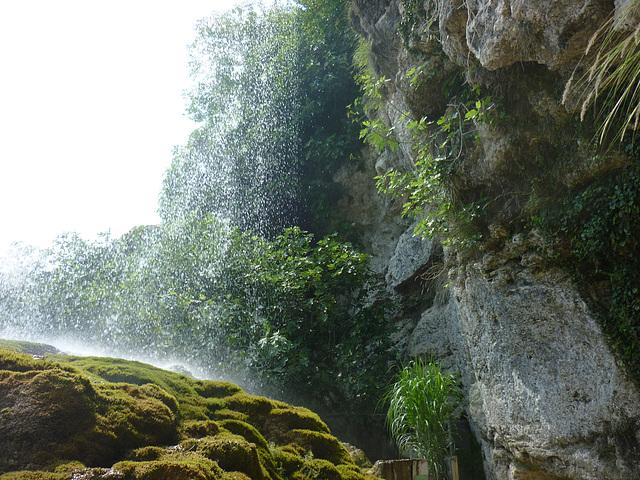 Fontaines pétrifiantes La Sône Isère