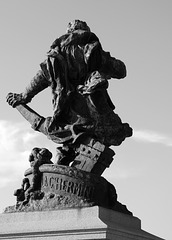 Statue of Jacques Cartier, St Malo