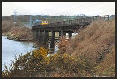 train on Black Bridge