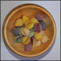 Pâtes conchiglia