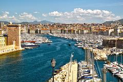 Le vieux Port ( Marseille - 13)