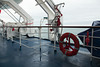A cold, wet, Channel crossing on the Brittany Ferries Bretagne