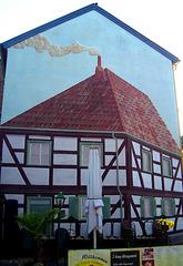 DE - Brühl - Wandmalerei in der Hospitalstraße
