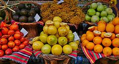 Exotische Früchte, garantiert frisch! Exotic fruits, guaranteed to be fresh!