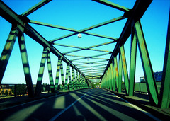 Old Sava Bridge in Belgrade