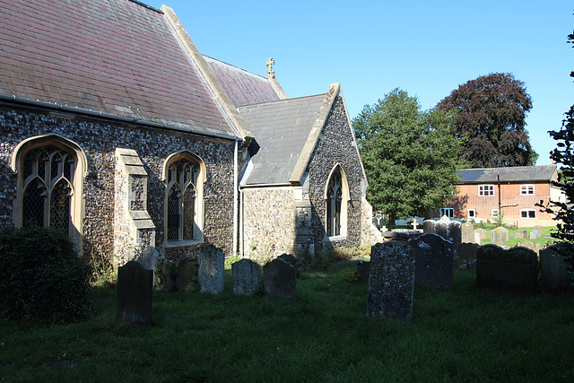 Saint Michael's Church, Peasenhall, Suffolk