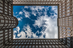 Framed Cloudscape