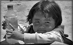 little tibetan girl