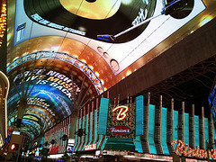 The spectacle of Fremont Street
