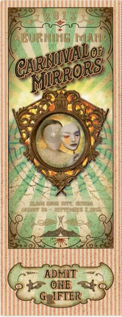 Burning Man Carnival Of Mirrors Ticket 2015
