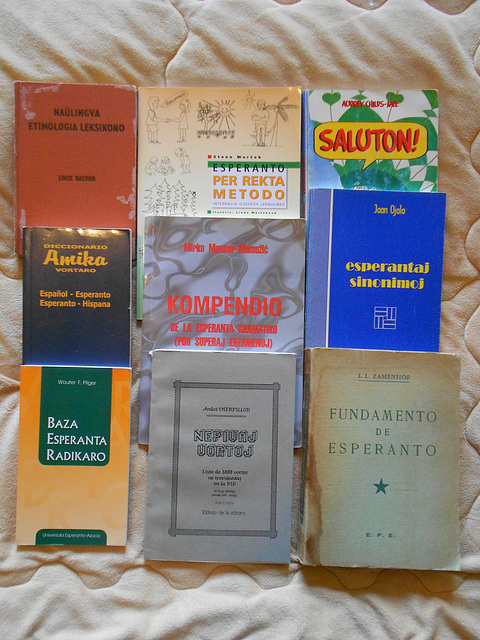 Llibres d'esperanto a la venda (3)