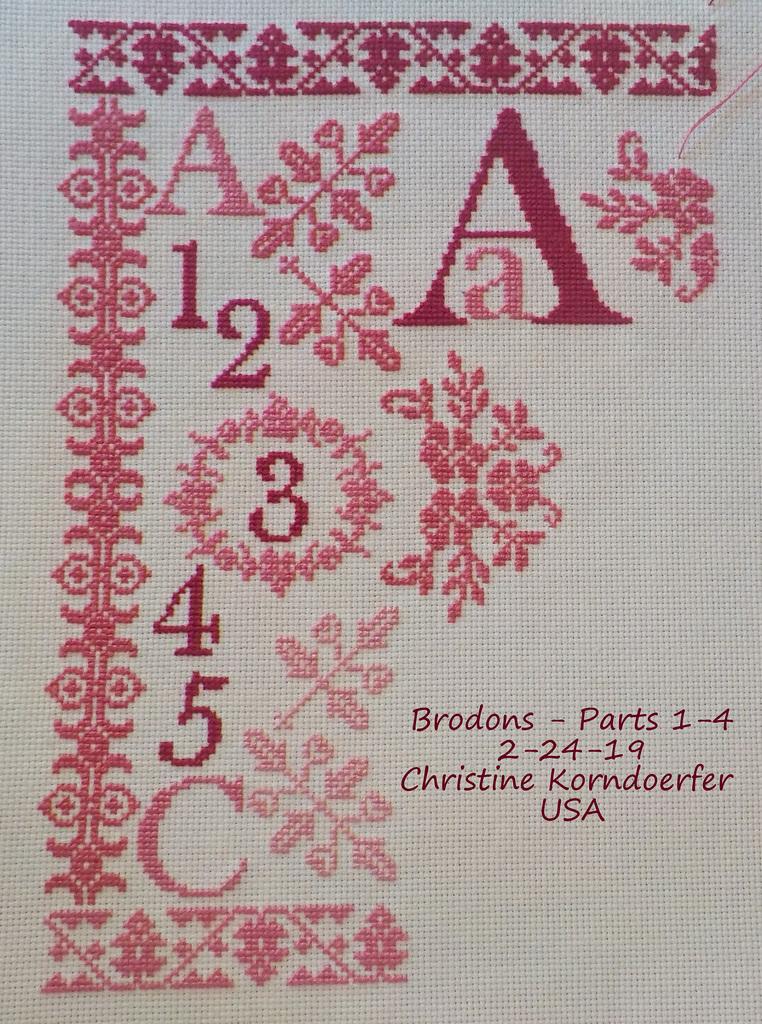 Brodons Parts 1-4 - Feb 24, 2019