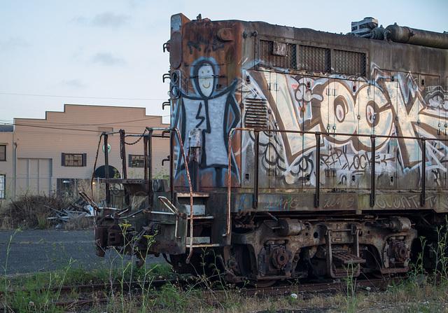 Eureka diesel grafitti (#1029)