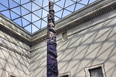 Kayung Totem Pole – British Museum, Bloomsbury, London, England