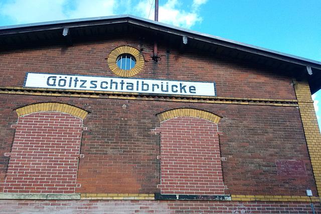 Göltzschtalbrücke 2015 – Former railway station