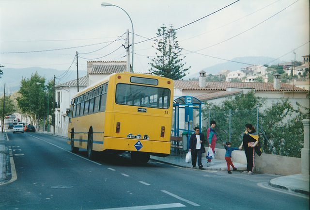 Catalina Marques 25 (PM 8900 Z) - 30 Oct 2000