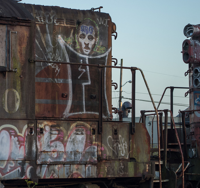 Eureka diesel grafitti (#1030)